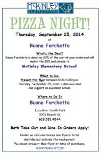 McK Pizza Night Buona Forchetta_2014.09.25