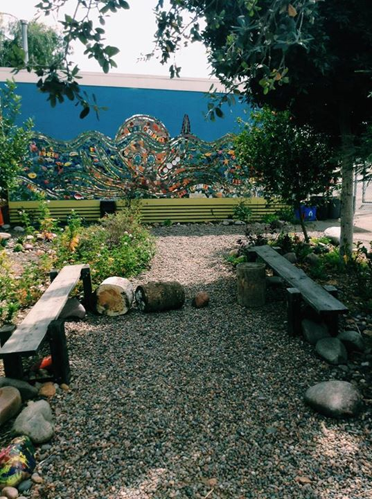 school garden octopus