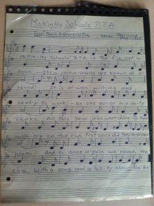 McKinleyPTA-song