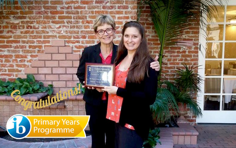 Mrs Z IB award