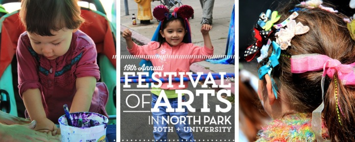 Click to learn more about the Kids Art Block at North Park Festival of the Arts!