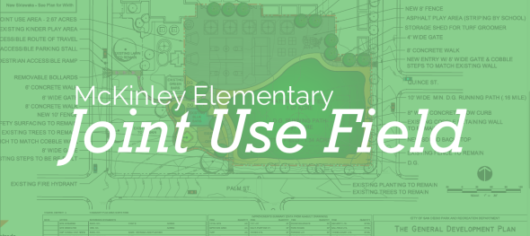 McKinley Elementary Joint Use Field