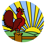 stock-illustration-5380728-rooster-crowing-at-dawn