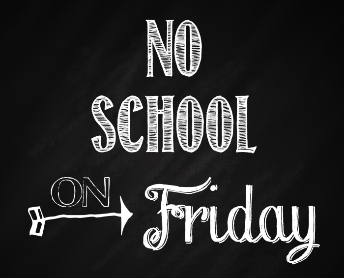 Image result for no school on friday