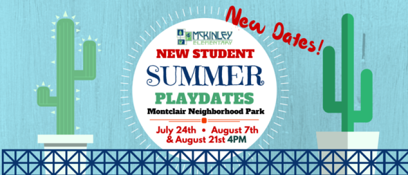 McKinley Summer Playdates at Montclair Park