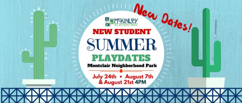 McKinley Summer Playdates at Montclair Park