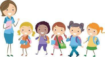 teacher-kids