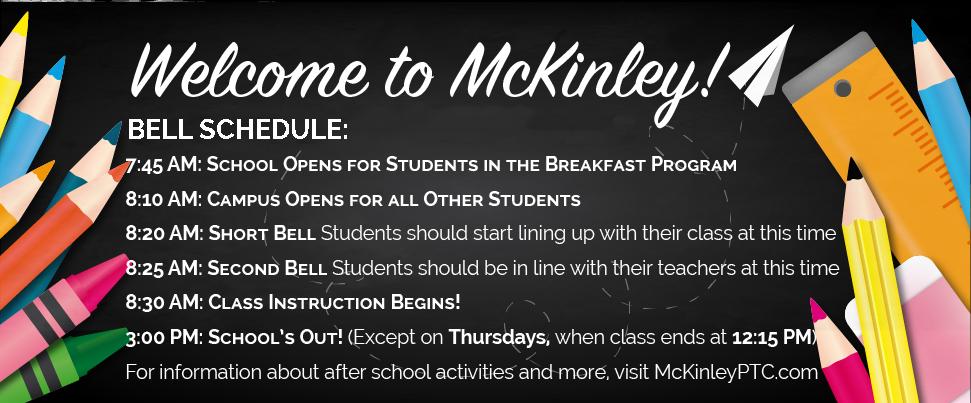 bell schedule mckinley.png