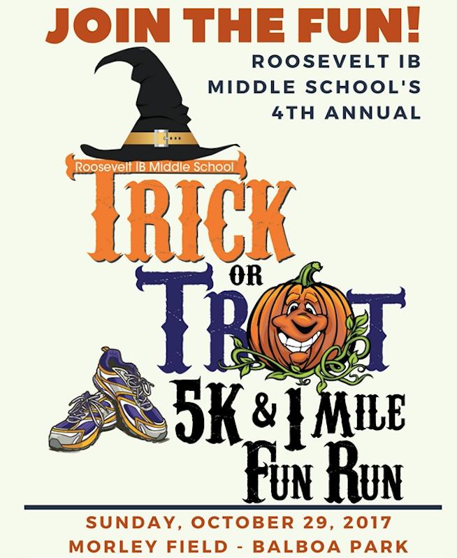 Trick or Treat 5K& 1 Mile Fun Run October 29, 2017