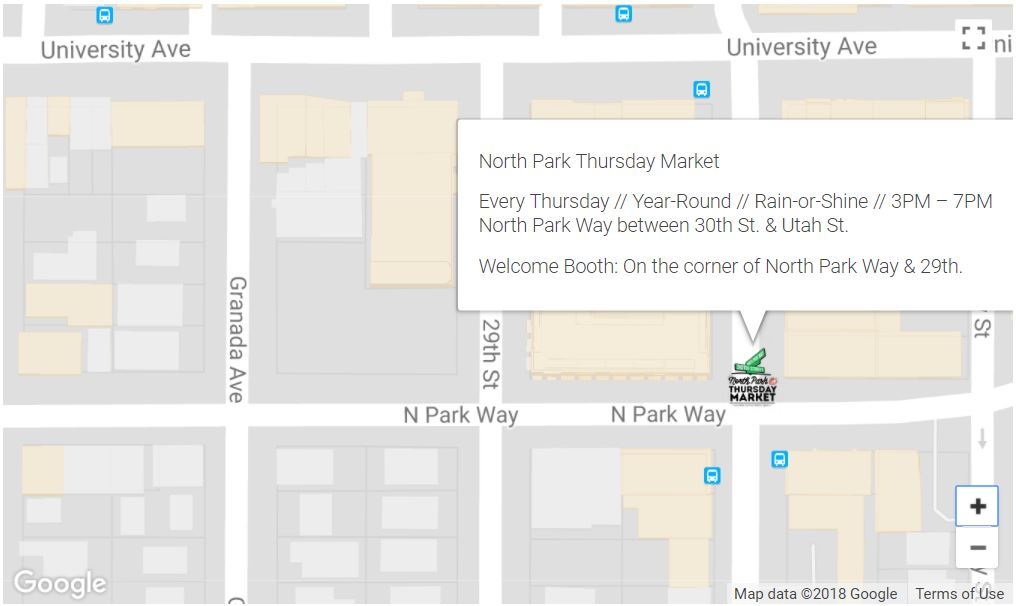 NP Thurs Market map