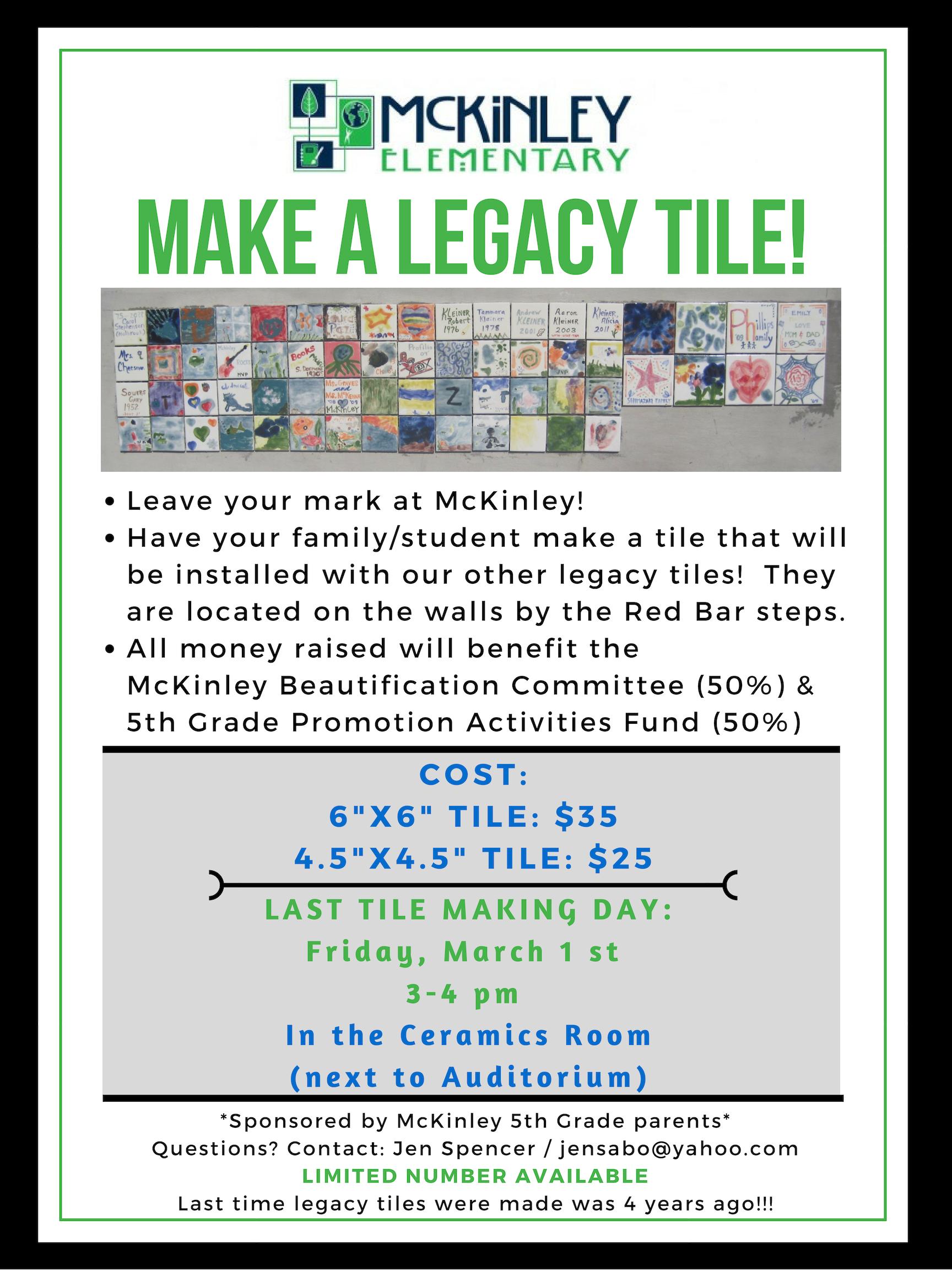 legacy mckinley tamara